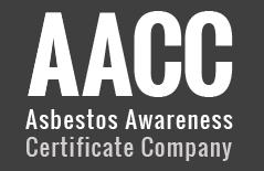 aacc asbestos awareness certificate company